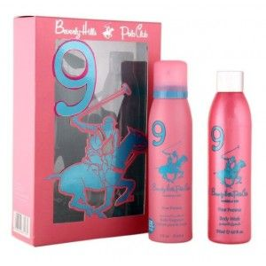 Buy Beverly Hills Polo Club Womens Body Fragrance  And Body Wash No.1 Gift Set - Nykaa