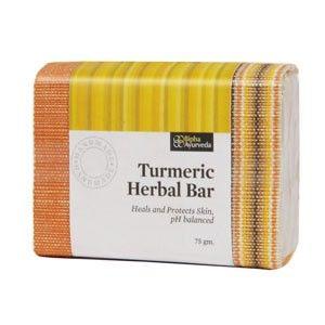 Buy Herbal Bipha Ayurveda Turmeric Herbal Bar - Nykaa