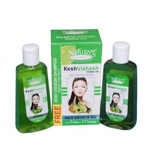 Buy Coloressence Kesh Vishesh Herbal Oil + Kesh Vishesh Shampoo FREE - Nykaa