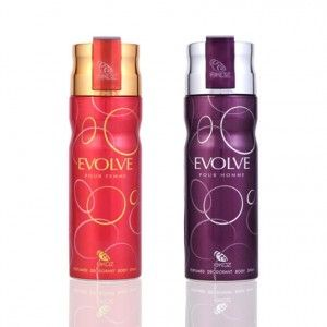 Buy Ekoz Evolve Men And Women Deodorant Combo - Nykaa