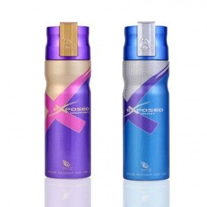 Buy Ekoz Exposed Men And Women Deodorant Combo - Nykaa