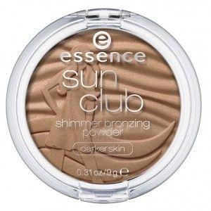 Buy Essence Sun Club Shimmer Bronzing Powder - Darker Skin - Nykaa