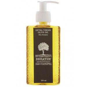 Buy Breathe Aromatherapy Pure Extra Virgin Olive Oil - Nykaa