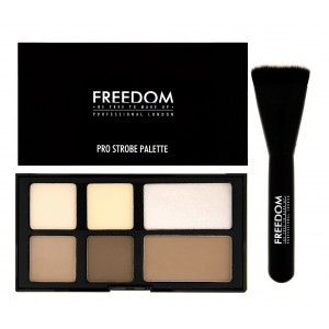 Buy Freedom Pro Strobe Palette With Brush - Nykaa