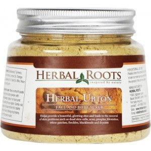 Buy Herbal Roots Fairness Ubton for Skin Whitening & Radiance Scrub - Nykaa