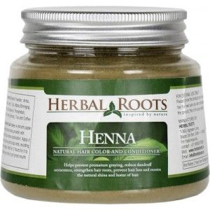 Buy Herbal Roots Herbal Henna Powder - Natural Hair Color And Conditioner - Nykaa