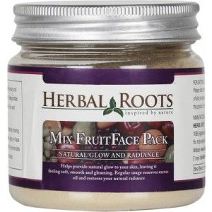 Buy Herbal Roots Anti Tan Mix Fruit Pack - Glow & Skin Hydration - Nykaa