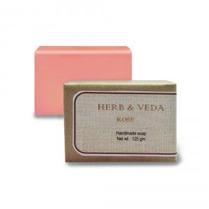 Buy Herb & Veda Rose Handmade Soap - Nykaa