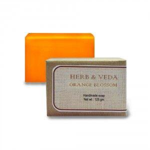 Buy Herb & Veda Orange Blossom Handmade Soap - Nykaa