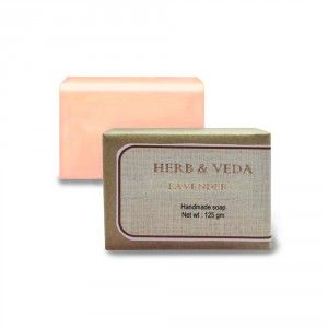 Buy Herb & Veda Lavender Handmade Soap - Nykaa