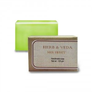 Buy Herb & Veda Mix Fruit Handmade Soap - Nykaa