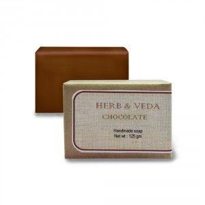 Buy Herb & Veda Chocolate Handmade Soap - Nykaa