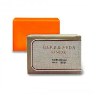 Buy Herb & Veda Sandal Handmade Soap - Nykaa