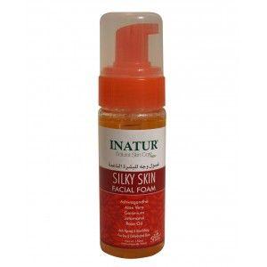Buy Inatur Silky Skin Facial Foam - Nykaa