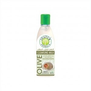 Buy Inatur Olive Face Cleansing Milk Removes Makeup & Impurities - Nykaa