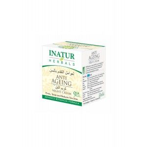 Buy Inatur Anti-Ageing Night Face Cream - Nykaa