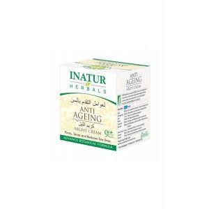 Buy Inatur Anti-Ageing Night Face Cream - Nykaa