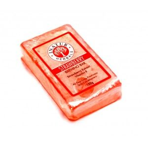 Buy Inatur Strawberry Bathing Bar - Nykaa
