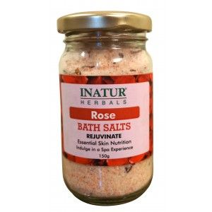 Buy Inatur Rose Bath Salt - Nykaa