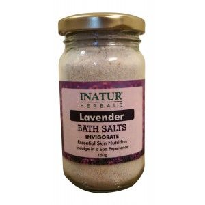 Buy Inatur Lavender Bath Salt - Nykaa