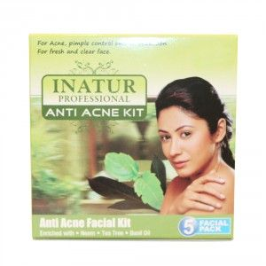 Buy Inatur Anti-Acne Facial Kit - Nykaa