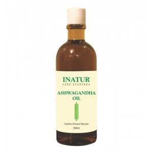Buy Inatur Ashwagandha Ayurvedic Oil - Nykaa