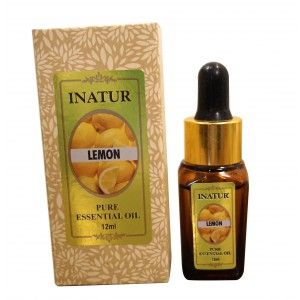 Buy Inatur Lemon Essential Oil - Nykaa