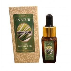 Buy Inatur Lemongrass Essential Oil - Nykaa
