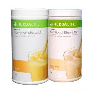 Buy Herbalife Formula 1 Nutritional Shake Mix Mango & French Vanilla - Pack of 2 - Nykaa