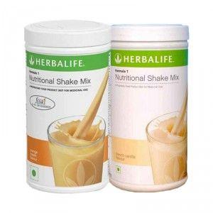 Buy Herbalife Formula 1 Nutritional Shake Mix French Vanilla & Orange Cream - Pack of 2 - Nykaa