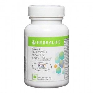 Buy Herbalife Formula 2 Multivitamin Mineral And Herbal (Unflavoured) - 90 Tablets - Nykaa