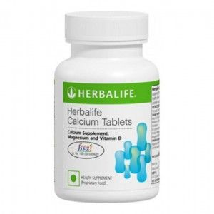 Buy Herbalife Calcium (Unflavoured) - 60 Tablets - Nykaa