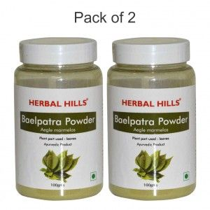 Buy Herbal Hills Baelpatra Powder - Pack Of 2 - Nykaa
