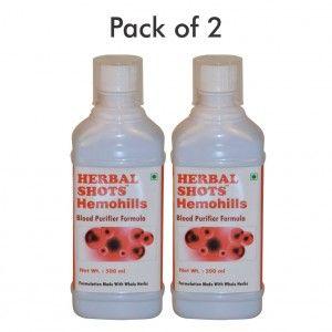 Buy Herbal Hills Hemohills Herbal Shots (Pack of 2) - Nykaa