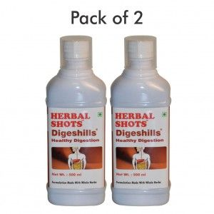 Buy Herbal Hills Digeshills Herbal Shots (Pack of 2) - Nykaa