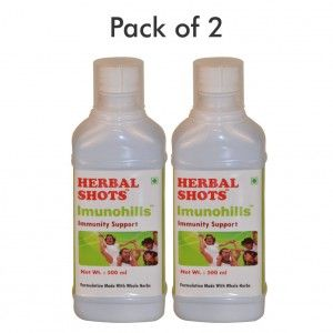 Buy Herbal Hills Imunohills Herbal Shots (Pack of 2) - Nykaa
