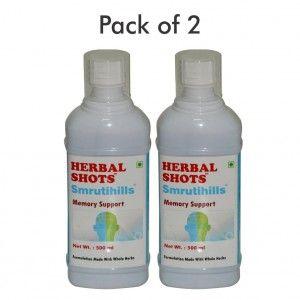 Buy Herbal Hills Smrutihills Herbal Shots (Pack of 2) - Nykaa