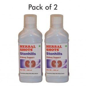 Buy Herbal Hills Stonhills Herbal Shots (Pack of 2) - Nykaa