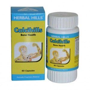 Buy Herbal Hills Calcihills Bone Health 60 Capsules - Nykaa
