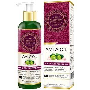 Buy Morpheme Remedies Pure Coldpressed Amla Hair Oil - Nykaa