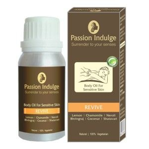 Buy Passion Indulge Revive Body Oil For Sensitive Skin - Nykaa