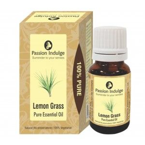 Buy Passion Indulge Lemongrass Pure Essential Oil - Nykaa