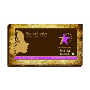 Buy Passion Indulge Anti-Ageing Eternia 7 Star Facial Kit - Nykaa