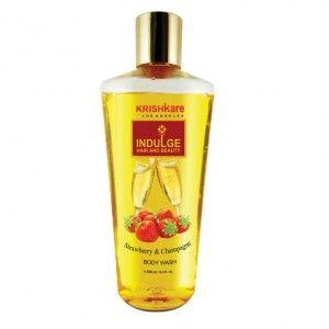 Buy Krishkare Strawberry And Champagne Body Wash - Nykaa
