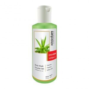Buy Krishkare Aloe Vera Body Wash Douche Gel - Nykaa