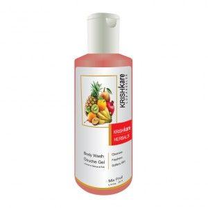 Buy Krishkare Mix Fruit Wash Body Douche Gel - Nykaa