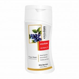 Buy Krishkare Wild Berries Face Wash - Nykaa