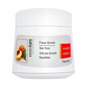 Buy Krishkare Peaches Face Scrub - Nykaa