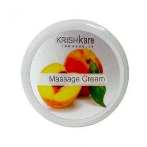 Buy Krishkare Peaches Body Massage Cream - Nykaa