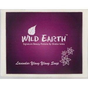 Buy Wild Earth Lavender Ylang Ylang Soap - Nykaa